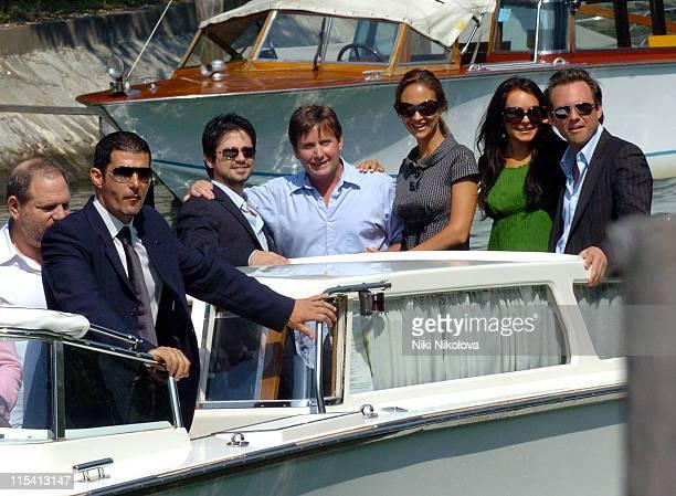 Freddy Rodriguez Emilio Estevez director Svetlana Metkina Lindsay Lohan and Christian Slater