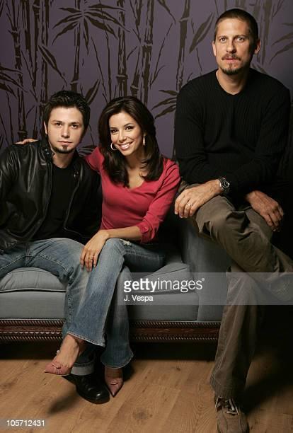 Freddy Rodriguez Eva Longoria and David Ayer director