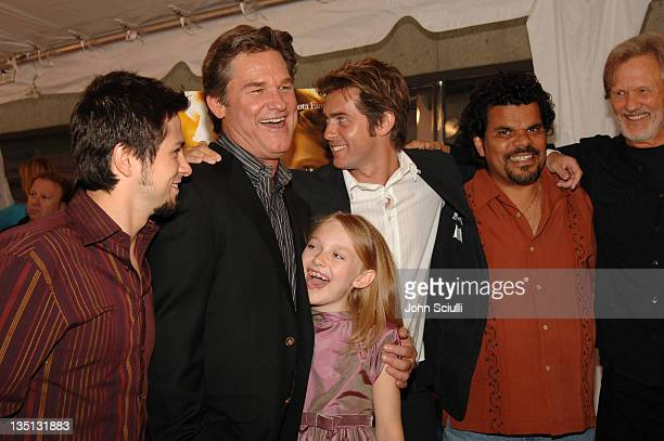 Freddy Rodriguez Kurt Russell Dakota Fanning John Gatins writerdirector Luis Guzman and Kris Kristofferson