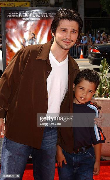 Freddy Rodriguez son during Spy Kids 2 The Island Of Lost Dreams Premiere at Grauman's Chinese Theatre in Hollywood California United States