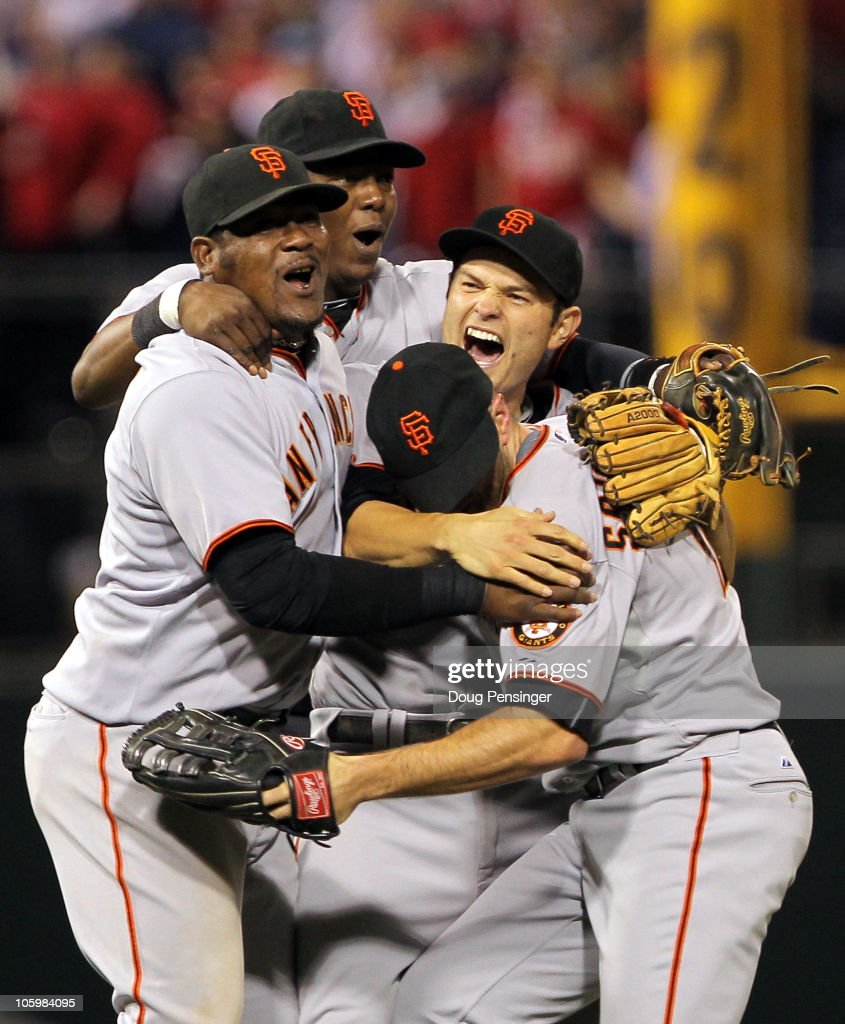 San Francisco Giants v Philadelphia Phillies, Game 6