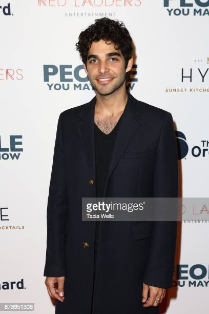 Freddy Wexler at the premiere of The Orchard's People You May Know at The Grove on November 13 2017 in Los Angeles California
