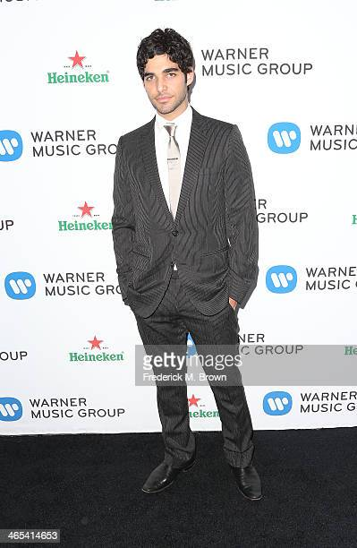Freddy Wexler attends Warner Music Group Hosts Annual Grammy Celebration at the Sunset Tower Hotel on January 26 2014 in West Hollywood California