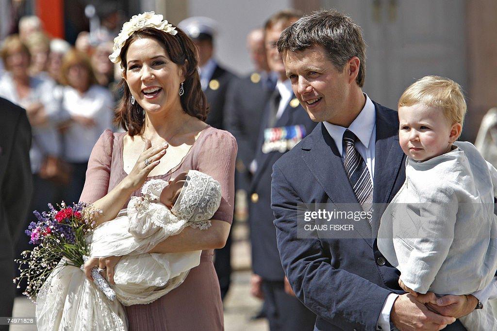 Danish Crown Princess Mary and Crown Pri... : News Photo