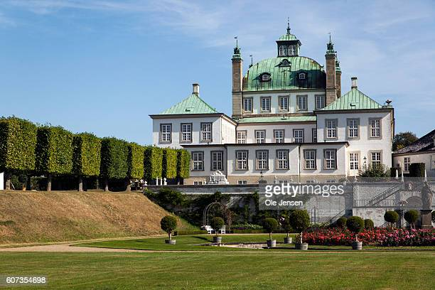 Fredensborg Palace the Queen's second residence after Amalienborg and where Queen Margrethe holds a recption for her 75 years birthday gift a...