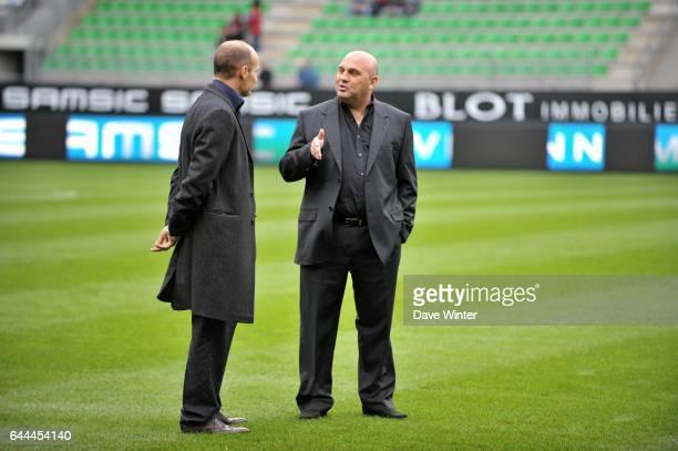 Frederic ANTONETTI / Pierre DREOSSI Rennes / Auxerre 8eme Journee de Ligue 1 Rennes Photo Dave Winter / Icon Sport