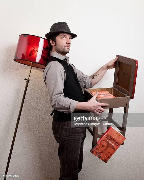 Frederic Aribit writer photographed in Paris