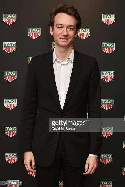 Frederic Arnault attends the TAG Heuer auction featuring unseen art work from the Don't Crack Under Pressure Campaign in association with Cara...