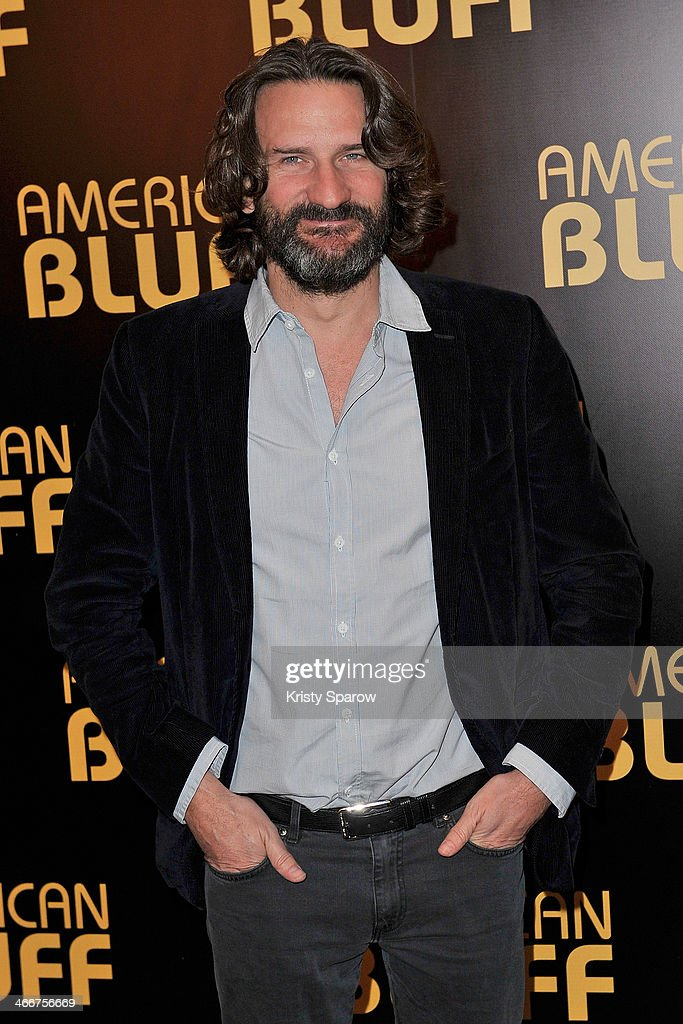 Frederic Begbeider attends the 'American Bluff' Paris Premiere at Cinema UGC Normandie on February 3, 2014 in Paris, France.