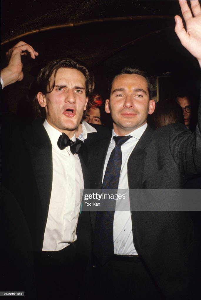 Frederic Beigbeder Night Clubbing In the 1990's In Paris : File Images