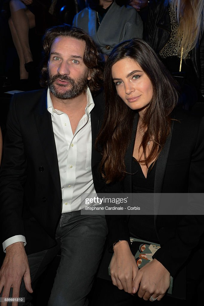 frederic beigbeder and lara micheli attend etam show as part of the news photo getty images. Black Bedroom Furniture Sets. Home Design Ideas