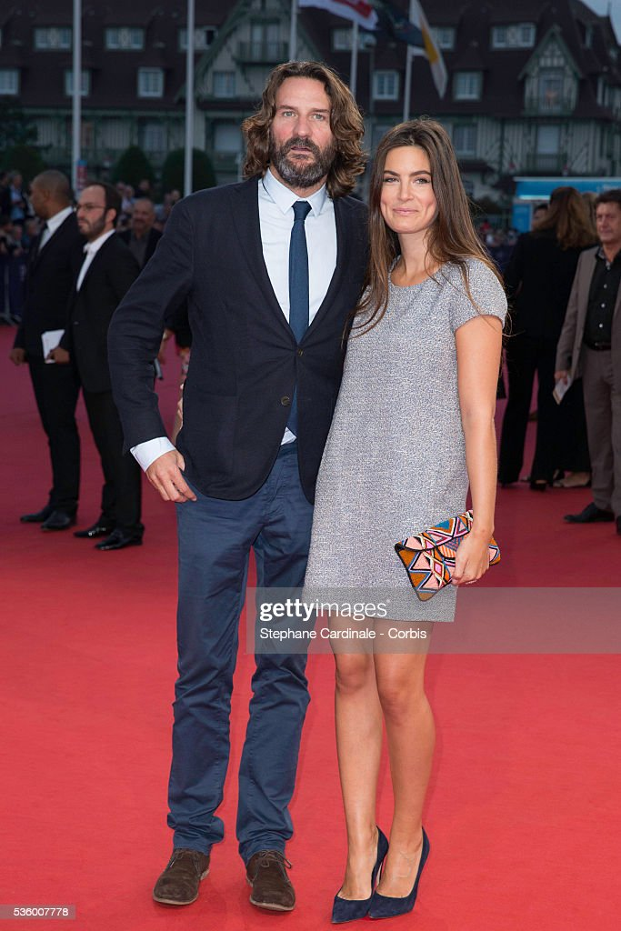 frederic beigbeder and lara micheli attend 39 the hundred foot journey 39 news photo getty images. Black Bedroom Furniture Sets. Home Design Ideas