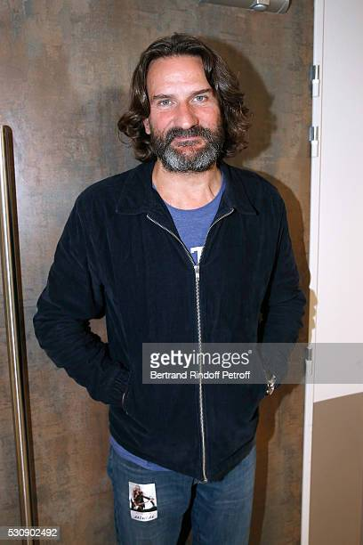 Frederic Beigbeder attends Michel Polnareff performs at AccorHotels Arena Bercy Day 4 on May 11 2016 in Paris
