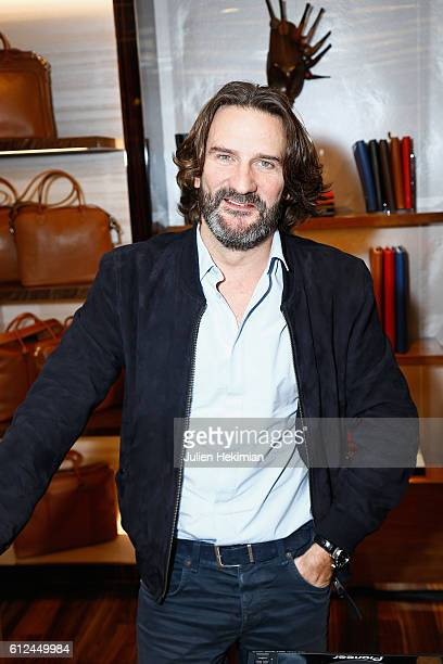 Frederic Beigbeder attends the Lonchamp Cocktail as part of the Paris Fashion Week Womenswear Spring/Summer 2017 at Longchamp Boutique St Honore on...