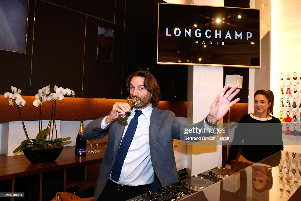Longchamp - Elysees Lights On Party Boutique Launch