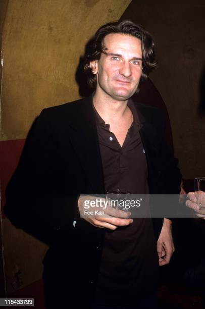 Frederic Beigbeder during Bordel Literary Magazine Party March 9 2005 at Club Castel in Paris France