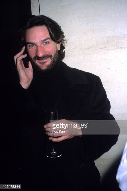 Frederic Beigbeder during 'La Mome' Paris Premiere After Party at Club de l Etoile in Paris France