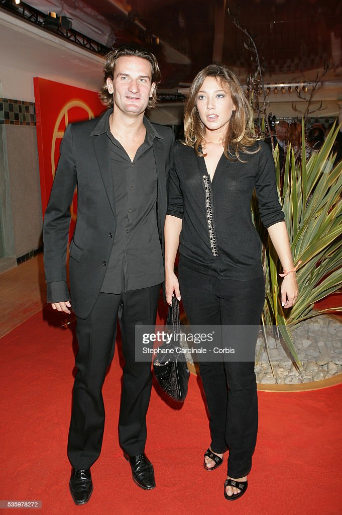 Frederic Beigbeder with his girlfriend Laura Smet at the 'Cartier Party' at the 31st American Deauville Film Festival.