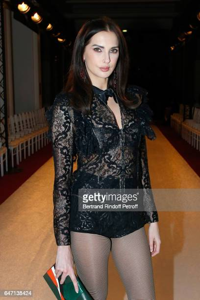 Frederic Bel attends the Alexis Mabille show as part of the Paris Fashion Week Womenswear Fall/Winter 2017/2018 on March 2 2017 in Paris France