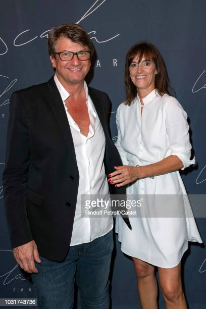 Frederic Biessy and Melanie Biessy attend La Scala reopens on September 11 2018 in Paris France