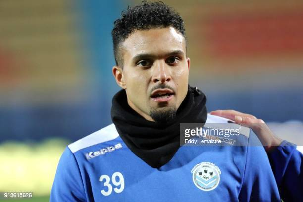 Frederic Bulot of Tours during Ligue 2 match between Tours and Auxerre on February 2, 2018 in Tours, France.