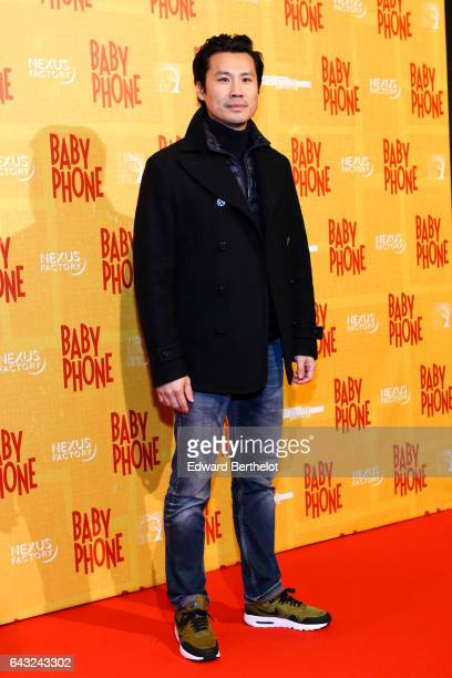 Frederic Chau during Baby Phone Paris Premiere at Cinema UGC Normandie on February 20 2017 in Paris France