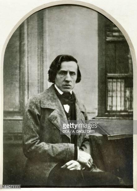 Frederic Chopin Polish pianist and composer photograph 1849 Varsavia Muzeum Fryderyka Chopina
