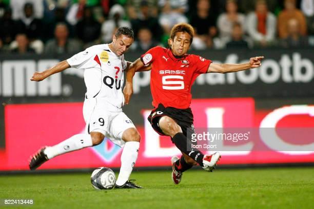 Frederic DA ROCHA / Junichi INAMOTO Rennes / Boulogne 1ere journee de Ligue 1 Stade de la Route de Lorient Rennes