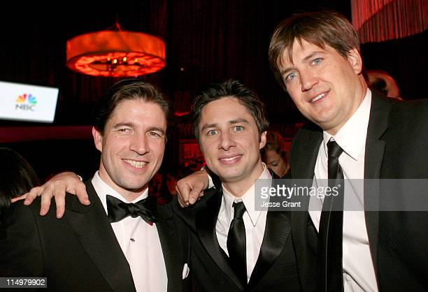 Frederic De Narp President and CEO of Cartier Zach Braff and Bill Lawrence