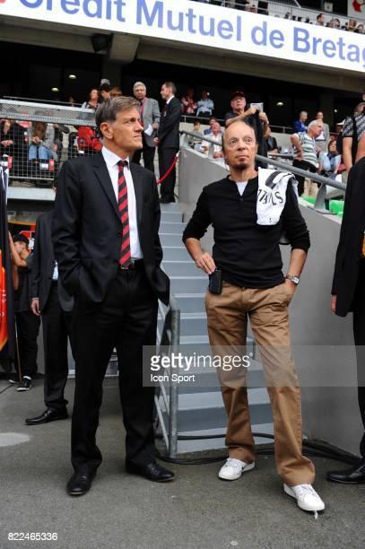 Frederic de SAINT SERNIN / Alan STIVELL Rennes / Saint Etienne 5eme journee de Ligue 1 Stade de la Route de Lorient Rennes