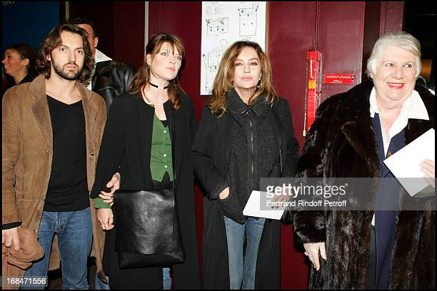Frederic Diefenthal Gwendoline Hamon Caroline Cellier and Francoise Seigner at Premiere of Tout Pour Plaire