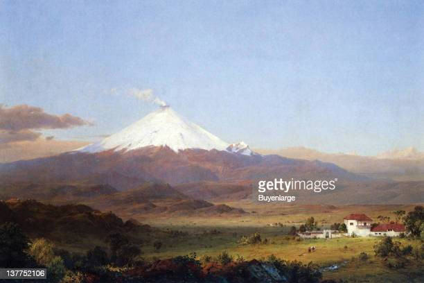 Frederic Edwin Church's Cotopaxi is a stratovolcano in the Andes Mountains, located about 28 km south of Quito, Ecuador, South America It is the...