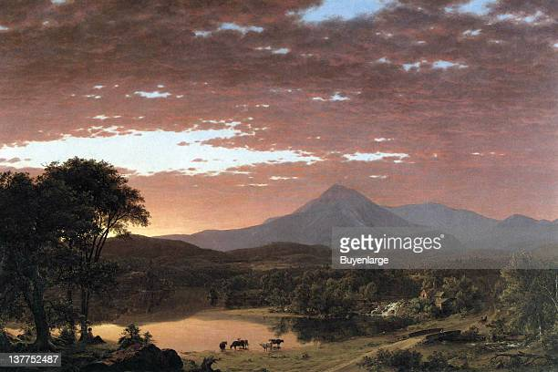 Frederic Edwin Church's Mount Katahdin is the highest mountain in Maine Named Katahdin by the Penobscot Indians the term means 'The Greatest...