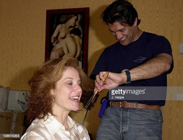Frederic Fekkai and Debra Winger during Cannes 2001 Frederic Fekkai at Cannes at Martinez Hotel in Cannes France