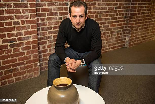 Frederic Fred Laluyaux president and chief executive officer of Anaplan Inc poses for a photograph at the company's headquarters in San Francisco...