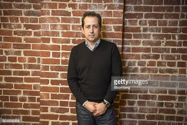 Frederic Fred Laluyaux president and chief executive officer of Anaplan Inc stands for a photograph at the company's headquarters in San Francisco...