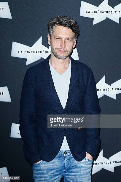 Frederic Gorny attends his retrospective at Cinematheque Francaise on April 6, 2016 in Paris, France.