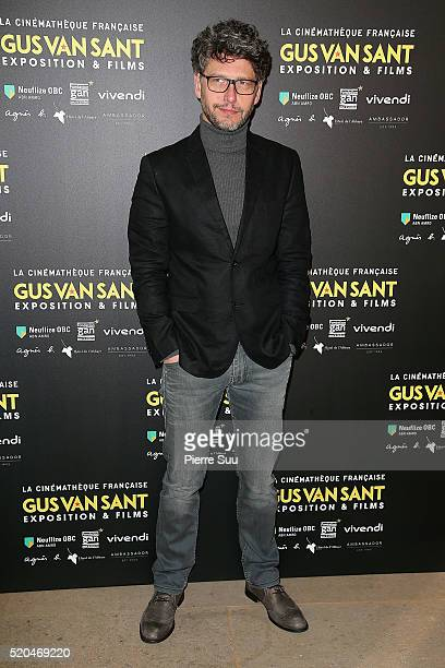 Frederic Gorny attends the Gus Van Sant : Retrospective at la cinematheque on April 11, 2016 in Paris, France.