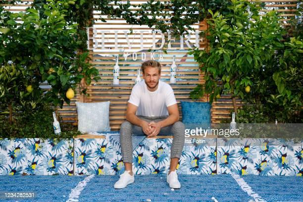 Frederic Heidorn during the Belvedere Vodka Summer Bay 2021 at Haubentaucher on July 28, 2021 in Berlin, Germany.