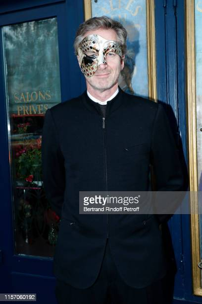 Frederic Jousset attends the Laperouse Mask Ball on the occasion of the inauguration evening of the Laperouse Restaurant as part of Paris Fashion...