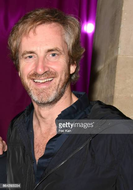 Frederic Jousset from Beaux Arts Magazine attends the 'Bal Jaune Elastique 2017' Dinner Party at Palais Brongniart on October 20 2017 in Paris France