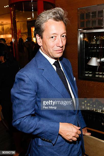 Frederic Malle at the Barneys New York celebration for Fashion's Night Out at Barneys New York on September 10 2009 in New York City