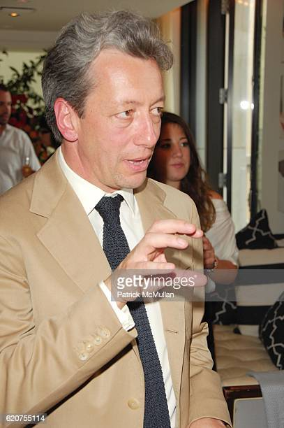 Frederic Malle attends EDITIONS DE PARFUMS FREDERIC MALLE fragrance launch at Barneys Penthouse NYC on July 8 2008 in New York City