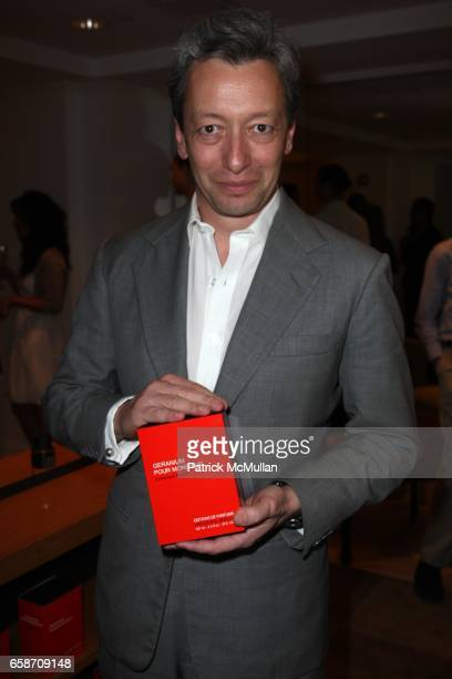 Frederic Malle attends PATRICK and VICTOR DEMARCHELIER Host a Fete to Launch FREDERIC MALLE'S New Fragrance GERANIUM POUR MONSIEUR at Barneys on June...