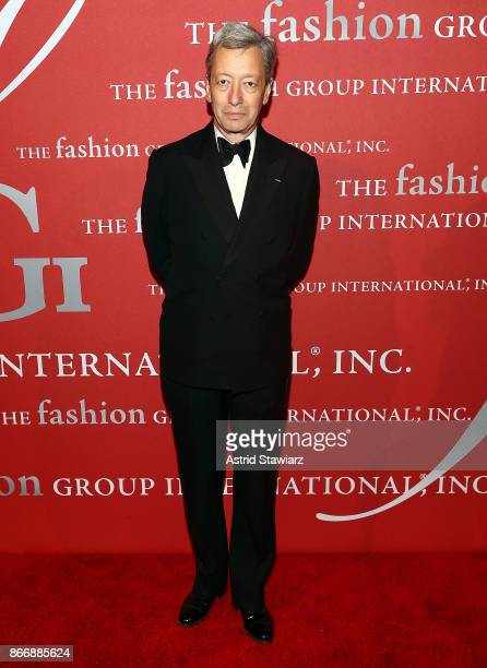 Frederic Malle attends the 2017 FGI Night Of Stars Modern Voices gala at Cipriani Wall Street on October 26 2017 in New York City
