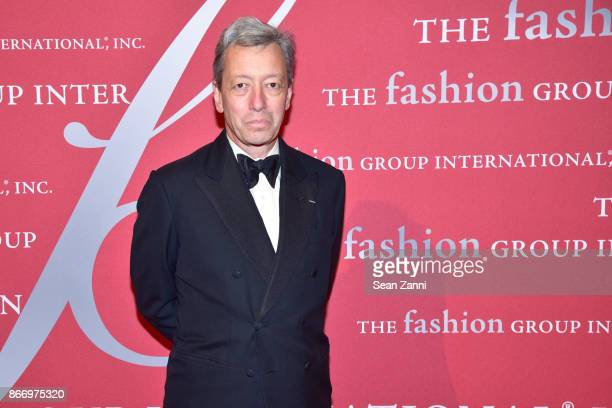 Frederic Malle attends the Fashion Group International's 34th Annual Night of Stars Gala at Cipriani Wall Street on October 26 2017 in New York City
