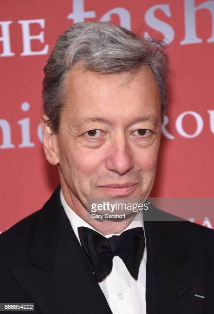 Frederic Malle of Editions de Parfums attends the 2017 FGI Night Of Stars Modern Voices gala at Cipriani Wall Street on October 26 2017 in New York...