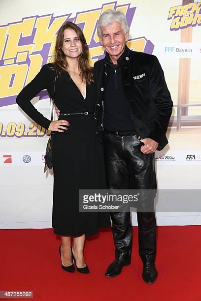 Frederic Meisner and his daughter Jennifer Meisner during the world premiere of 'Fack ju Goehte 2' at Mathaeser Kino on September 7 2015 in Munich...