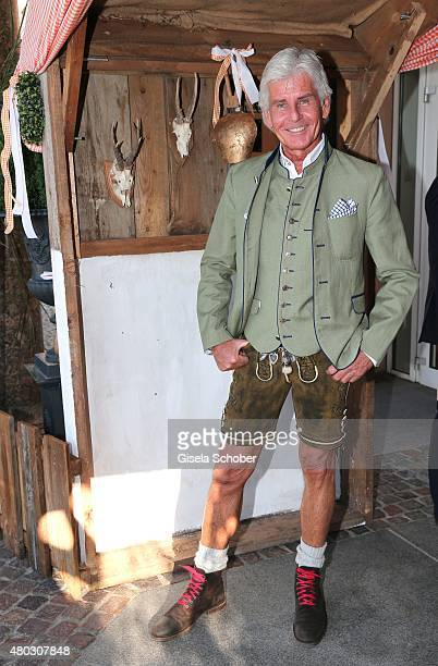 Frederic Meisner during a Bavarian Evening ahead of the Kaiser Cup 2015 on July 10 2015 in Bad Griesbach near Passau Germany