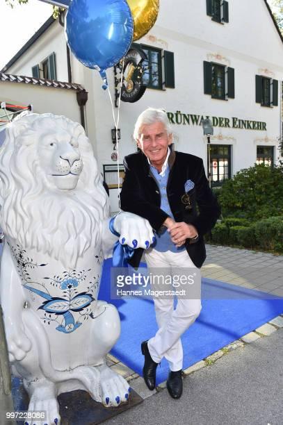 Frederic Meisner during the dinner Royal at the Gruenwalder Einkehr on July 12 2018 in Munich Germany